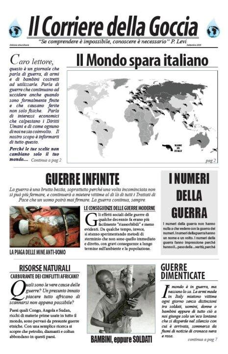 Il mondo spara italiano